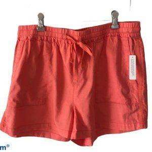 Caslon Peach Shorts Size Medium New with Tags